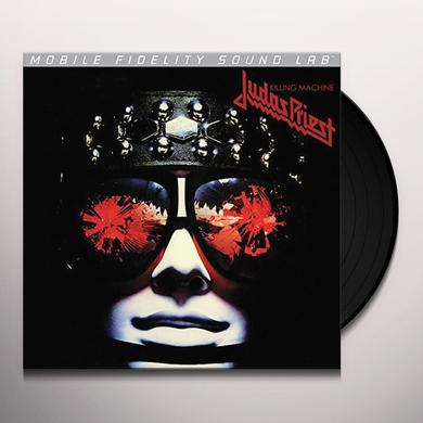 Judas Priest KILLING MACHINE ( HELL BENT FOR LEATHER ) Vinyl Record - Limited Edition