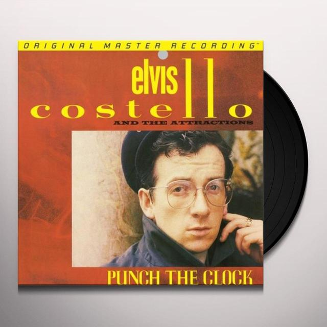 Elvis Costello PUNCH THE CLOCK Vinyl Record - Limited Edition, 180 Gram Pressing