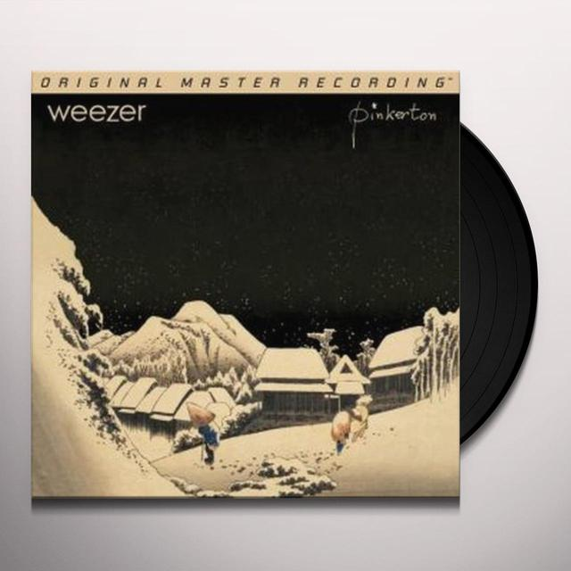 Weezer PINKERTON Vinyl Record - Limited Edition, 180 Gram Pressing