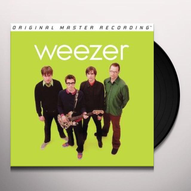 WEEZER (GREEN ALBUM) Vinyl Record - Limited Edition, 180 Gram Pressing