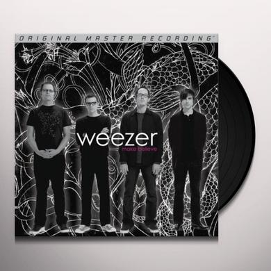 Weezer MAKE BELIEVE Vinyl Record - Limited Edition, 180 Gram Pressing