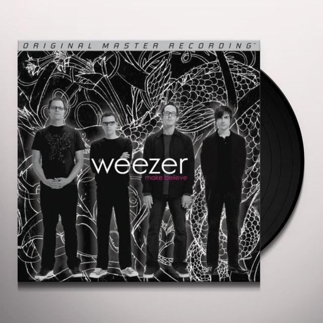 Weezer MAKE BELIEVE Vinyl Record - Limited Edition, 180 Gram Pressing