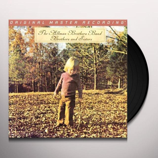 The Allman Brothers Band  BROTHERS & SISTERS Vinyl Record - Limited Edition, 180 Gram Pressing