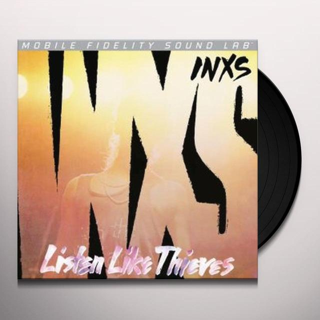 Inxs LISTEN LIKE THIEVES Vinyl Record - Limited Edition, 180 Gram Pressing