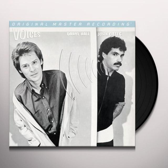 Hall & Oates VOICES Vinyl Record - Limited Edition, 180 Gram Pressing