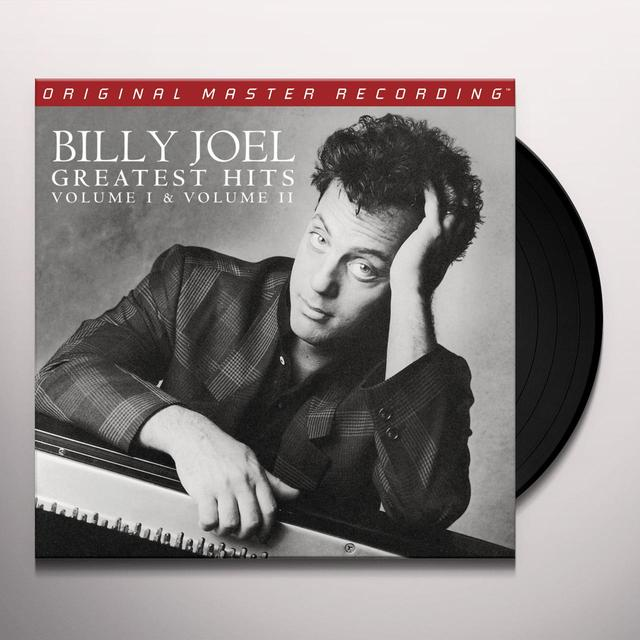 Billy Joel GREATEST HITS VOLUME I & VOLUME II Vinyl Record - Limited Edition, 180 Gram Pressing