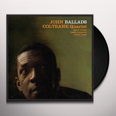 John Coltrane BALLADS (BONUS TRACK) Vinyl Record - 180 Gram Pressing
