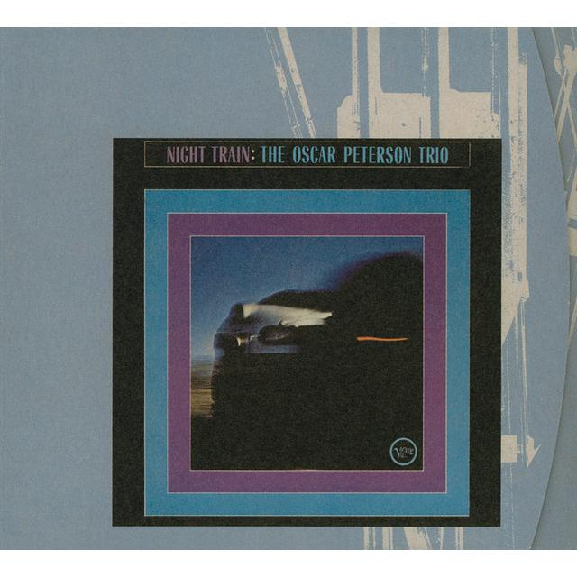 Oscar Peterson NIGHT TRAIN Vinyl Record