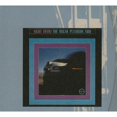 Oscar Peterson NIGHT TRAIN (BONUS TRACK) Vinyl Record - 180 Gram Pressing
