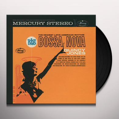 Quincy Jones BIG BAND BOSSA NOVA (BONUS TRACK) Vinyl Record - 180 Gram Pressing