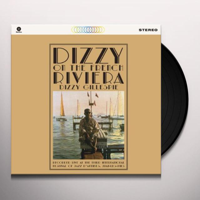Dizzy Gillespie DIZZY ON THE FRENCH RIVIERA Vinyl Record
