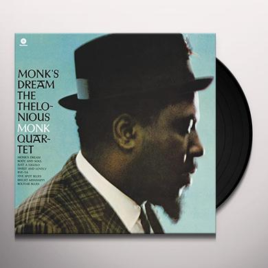 Thelonious Monk MONK'S DREAM (BONUS TRACK) Vinyl Record - 180 Gram Pressing