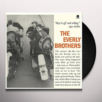 EVERLY BROTHERS (BONUS TRACKS) Vinyl Record - 180 Gram Pressing