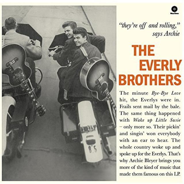EVERLY BROTHERS (BONUS TRACKS) Vinyl Record - 180 Gram Pressing