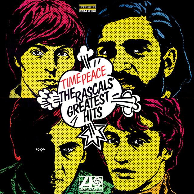 TIME PEACE: THE RASCALS GREATEST HITS Vinyl Record - Limited Edition, 180 Gram Pressing