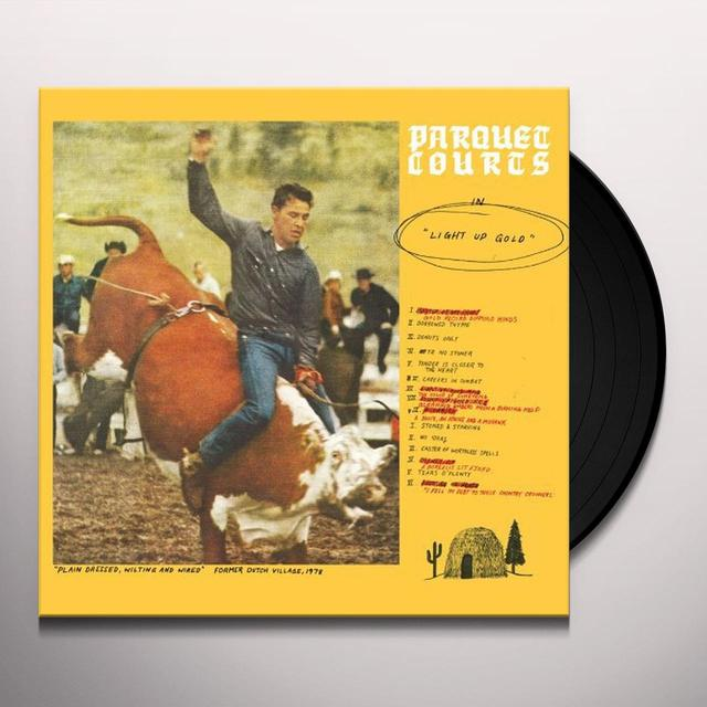 Parquet Courts LIGHT UP GOLD Vinyl Record - Digital Download Included