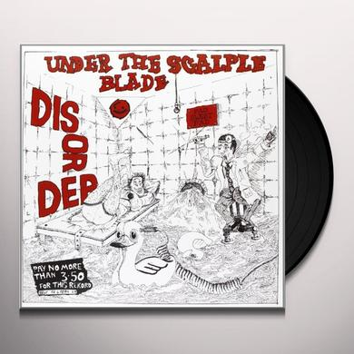 Disorder UNDER THE SCALPEL BLADE Vinyl Record