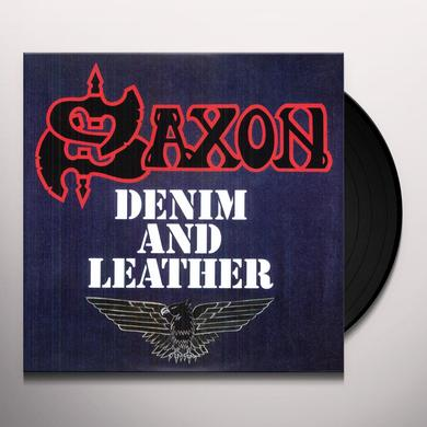 Saxon DENIM & LEATHER Vinyl Record