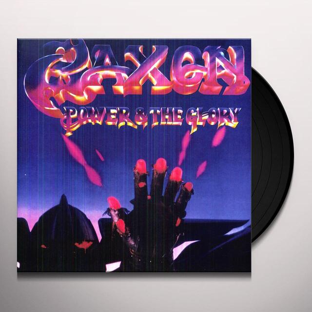 Saxon POWER & THE GLORY Vinyl Record