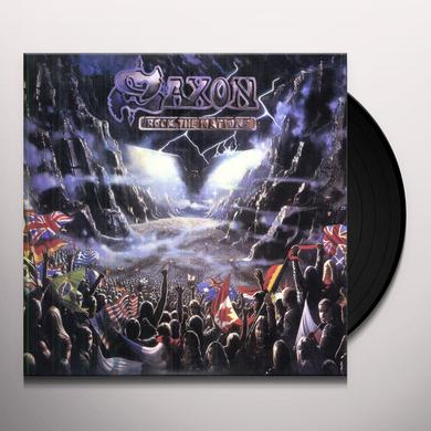 Saxon ROCK THE NATIONS Vinyl Record