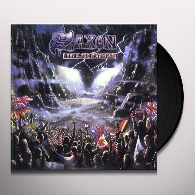 Saxon ROCK THE NATIONS Vinyl Record