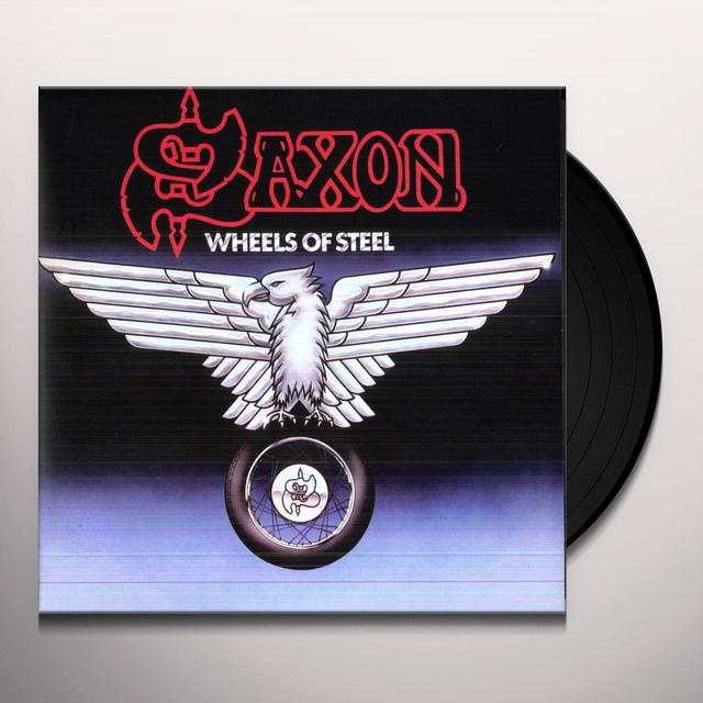 Saxon WHEELS OF STEEL Vinyl Record