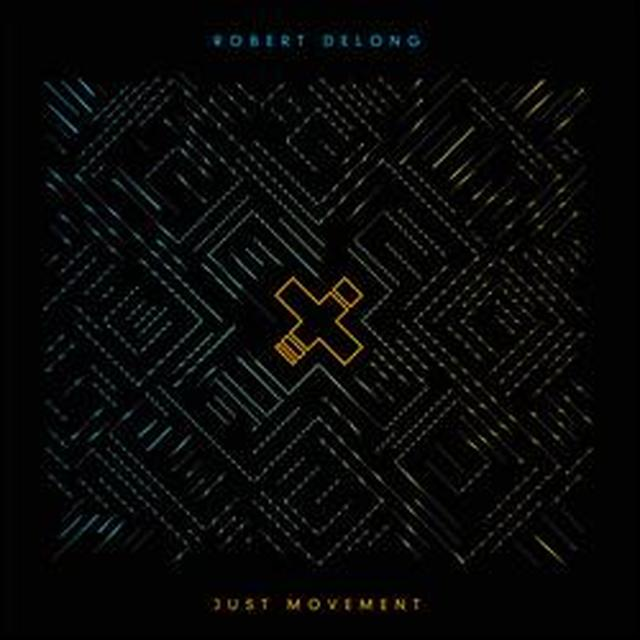 Robert Delong JUST MOVEMENT Vinyl Record