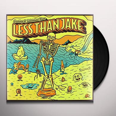 Less Thank Jake GREETINGS & SALUTATIONS Vinyl Record