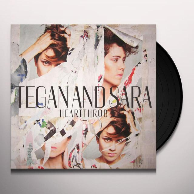 Tegan & Sara HEARTTHROB (BONUS CD) Vinyl Record