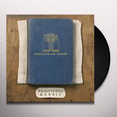 Frightened Rabbit PEDESTRIAN VERSE Vinyl Record