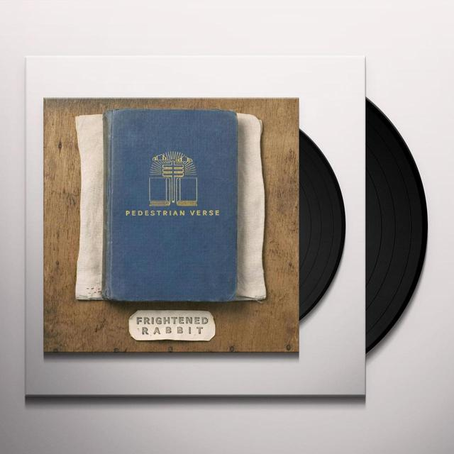 Frightened Rabbit PEDESTRIAN VERSE Vinyl Record