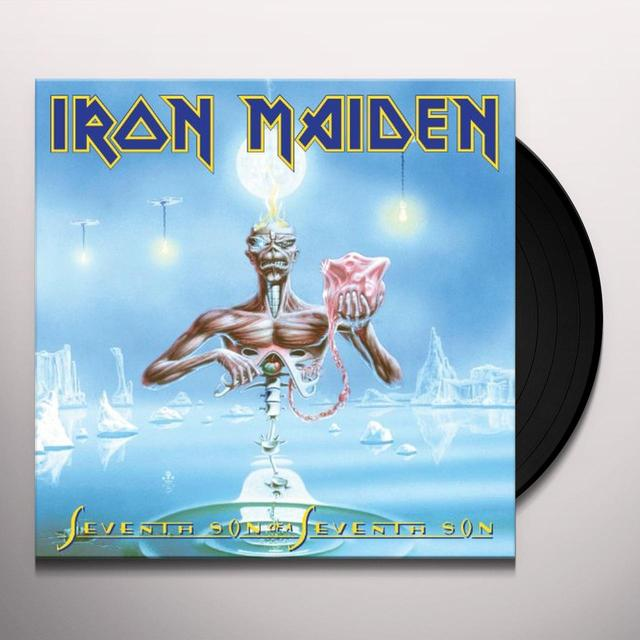 Iron Maiden SEVENTH SON OF A SEVENTH SON Vinyl Record - Picture Disc