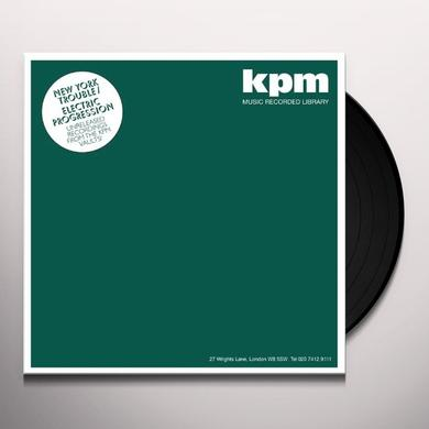 Kpm NEW YORK TROUBLE/ELECTRIC PROGRESSION Vinyl Record