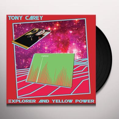 Tony Carey EXPLORER & YELLOW POWER Vinyl Record