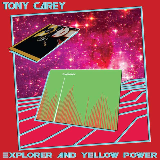Tony Carey EXPLORER & YELLOW POWER Vinyl Record