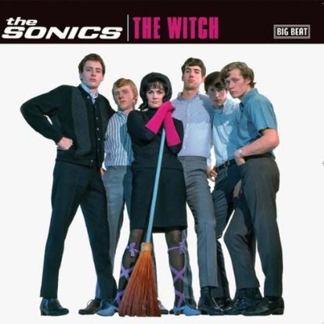 Sonics WITCH Vinyl Record - UK Import