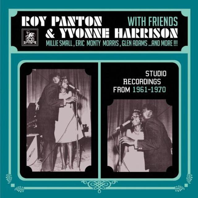 Roy Panton / Yvonne Harrison STUDIO RECORDINGS 1961 - 1970 Vinyl Record