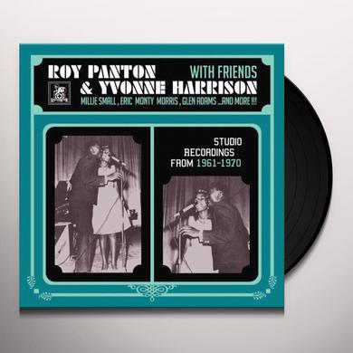 Roy Panton / Yvonne Harrison STUDIO RECORDINGS 1961 - 1970 Vinyl Record