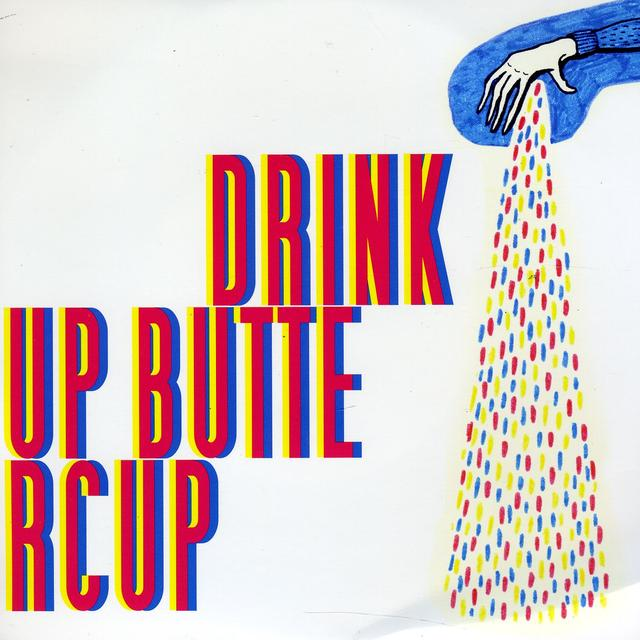 Drink Up Buttercup EVEN THINK / HEAVY HAND Vinyl Record