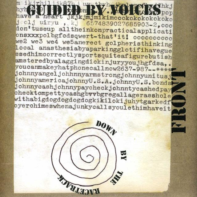 Guided By Voices DOWN BY THE RACETRACK Vinyl Record