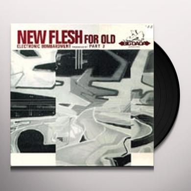 New Flesh For Old ELECTRONIC BOMBARDMENT Vinyl Record
