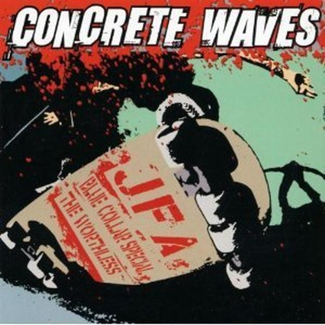 CONCRETE WAVES / VARIOUS Vinyl Record