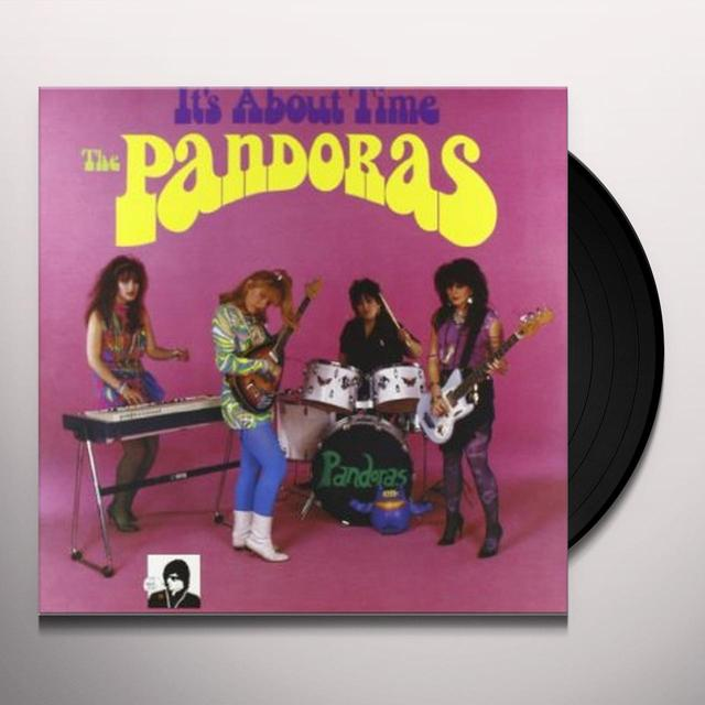 Pandoras IT'S ABOUT TIME Vinyl Record