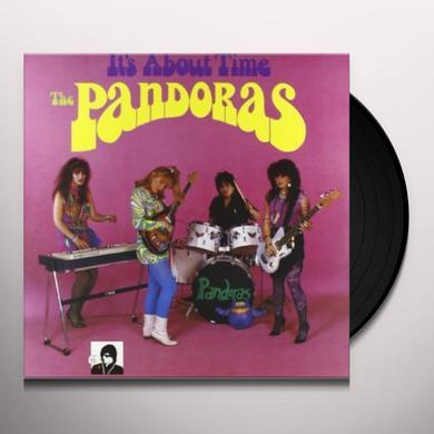 Pandoras IT'S ABOUT TIME Vinyl Record
