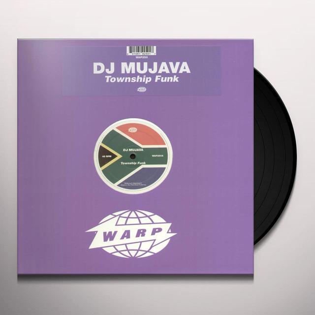 Dj Mujava TOWNSHIP FUNK Vinyl Record