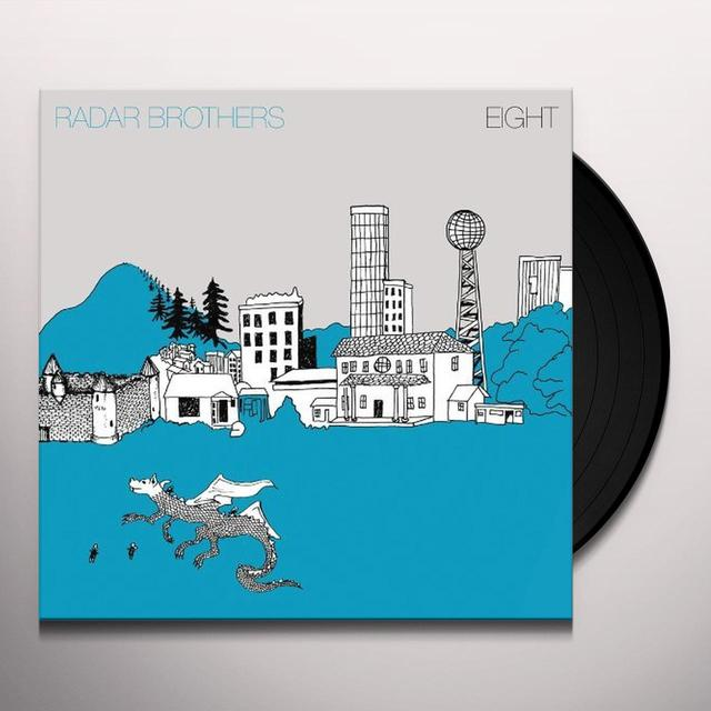 Radar Brothers EIGHT (BONUS CD) Vinyl Record