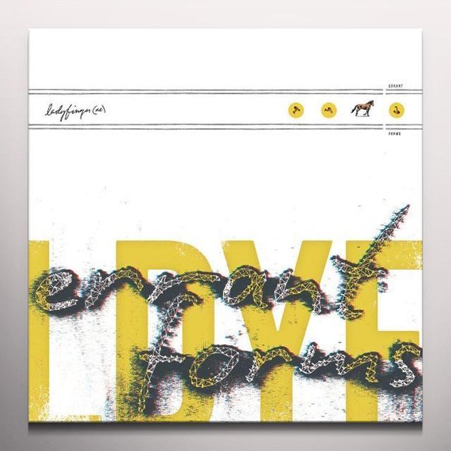 Ladyfinger (Ne) ERRANT FORMS (BONUS CD) Vinyl Record - Clear Vinyl