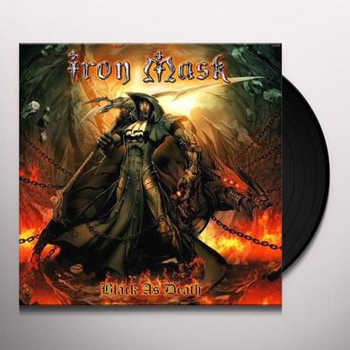 Iron Mask BLACK AS DEATH Vinyl Record