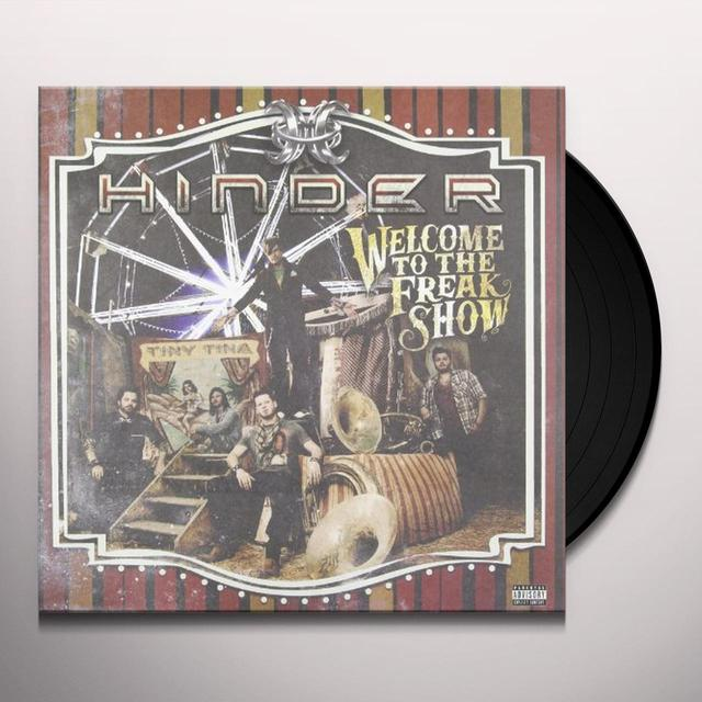 Hinder WELCOME TO THE FREAKSHOW Vinyl Record