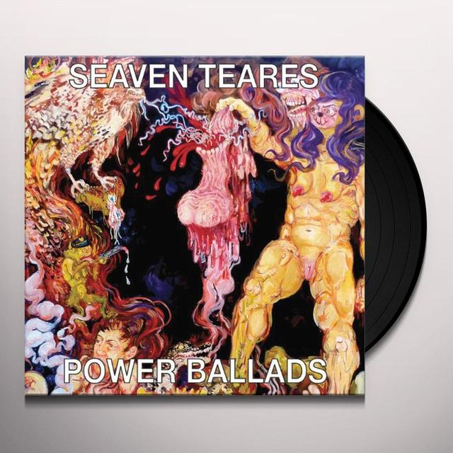 Seaven Teares POWER BALLADS Vinyl Record